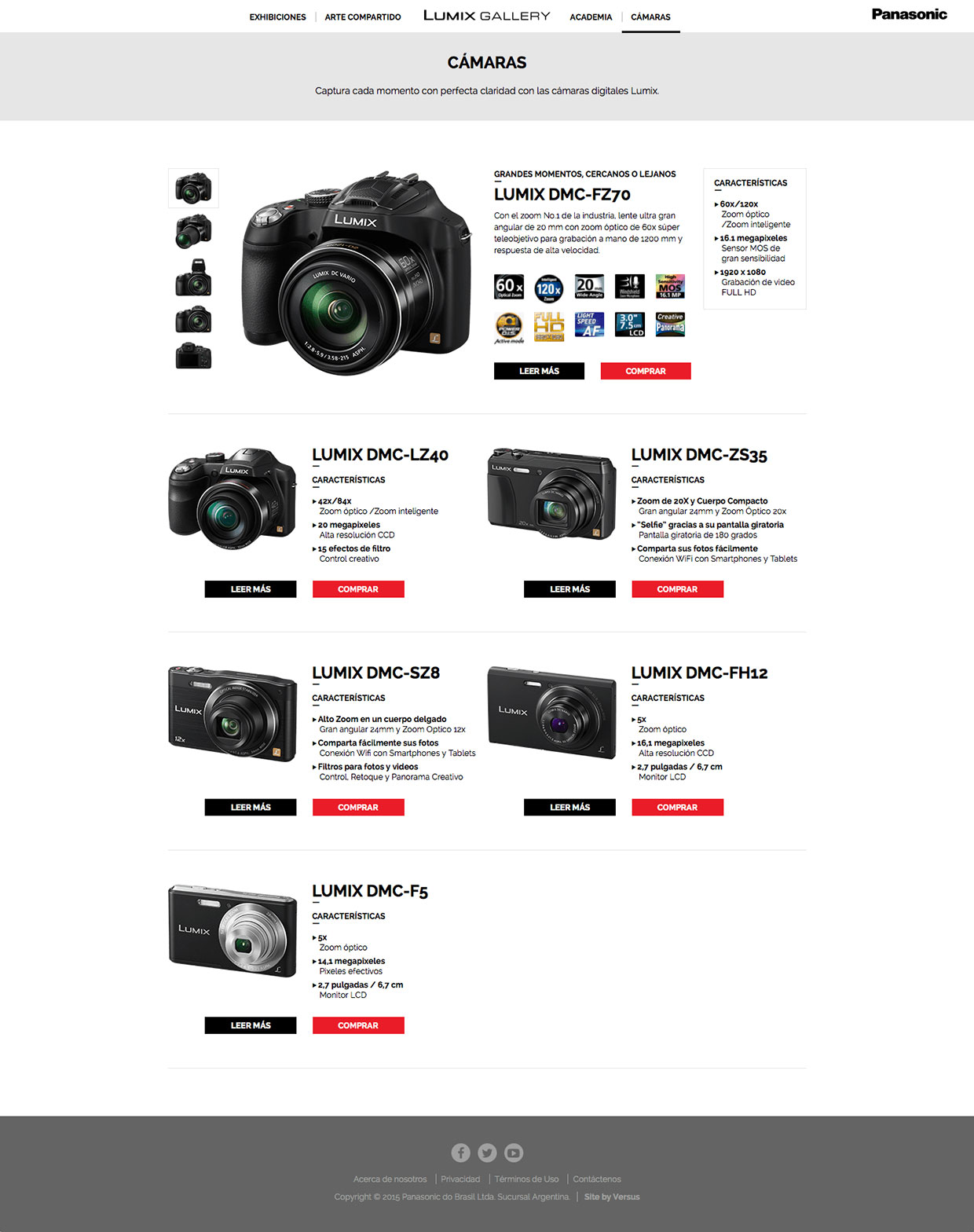 Lumix Gallery Line-Up
